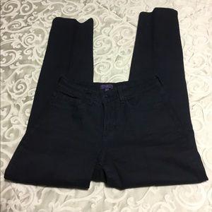 NYDJ Skinny, Lift, Tuck,Technology Black Jeans
